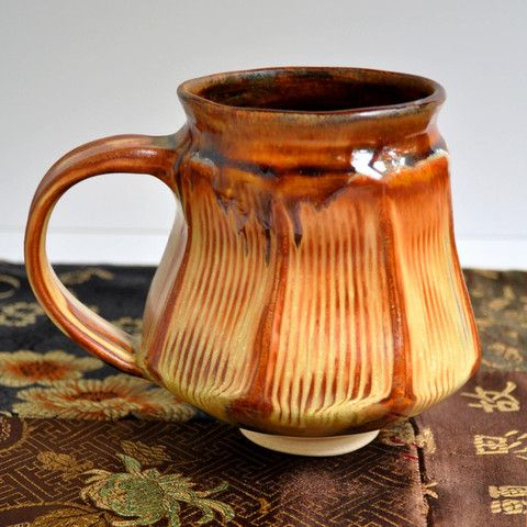 Faceted Mug in Sunday Coffee