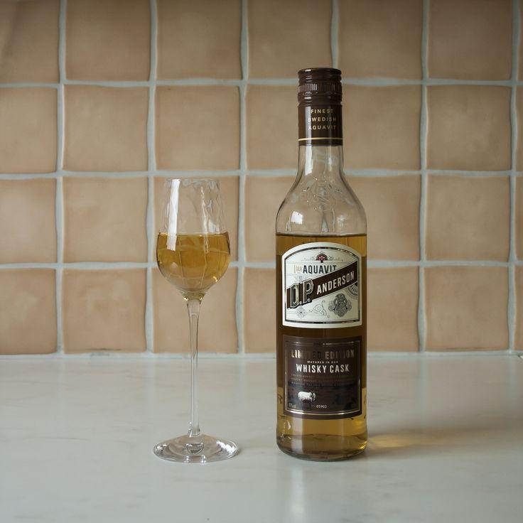 O.P. Anderson Limited Edition Whisky Cask   Aquavit/akvavit