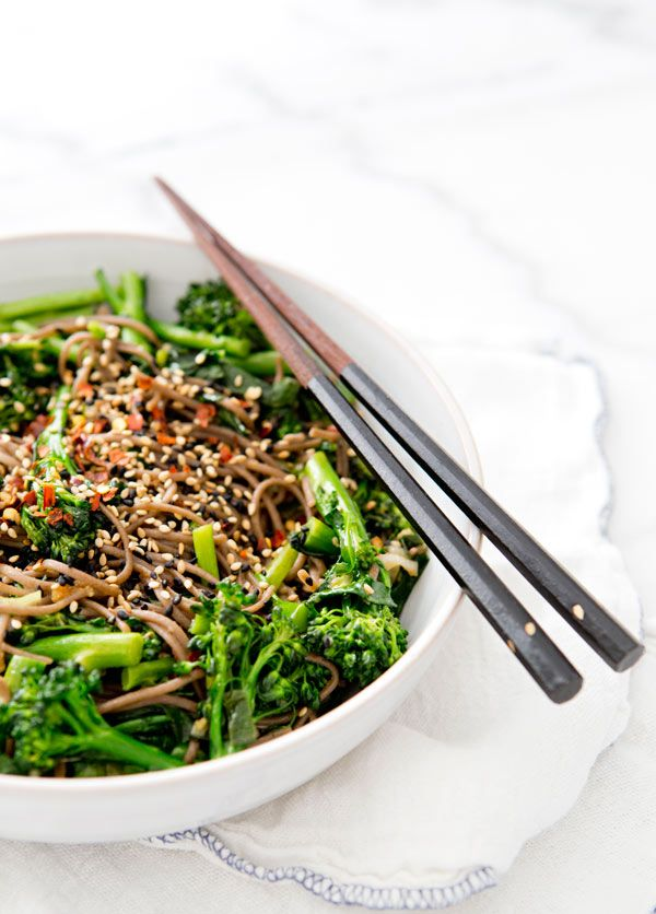 rapini noodle bowl – A House in the Hills