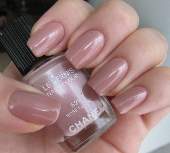 this is a great subtle everyday nail color #chanel #classic #nails
