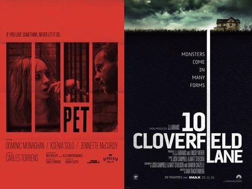 "Daca esti sociopat (si stiu ca esti) iti recomand doua filme cu psihopati ambele aparute in 2016 si anume ""Strada Cloverfield 10"" si ""Animalul de companie""."