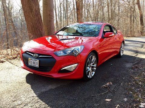 Redline Review: 2015 Hyundai Genesis Coupe 3.8 - YouTube