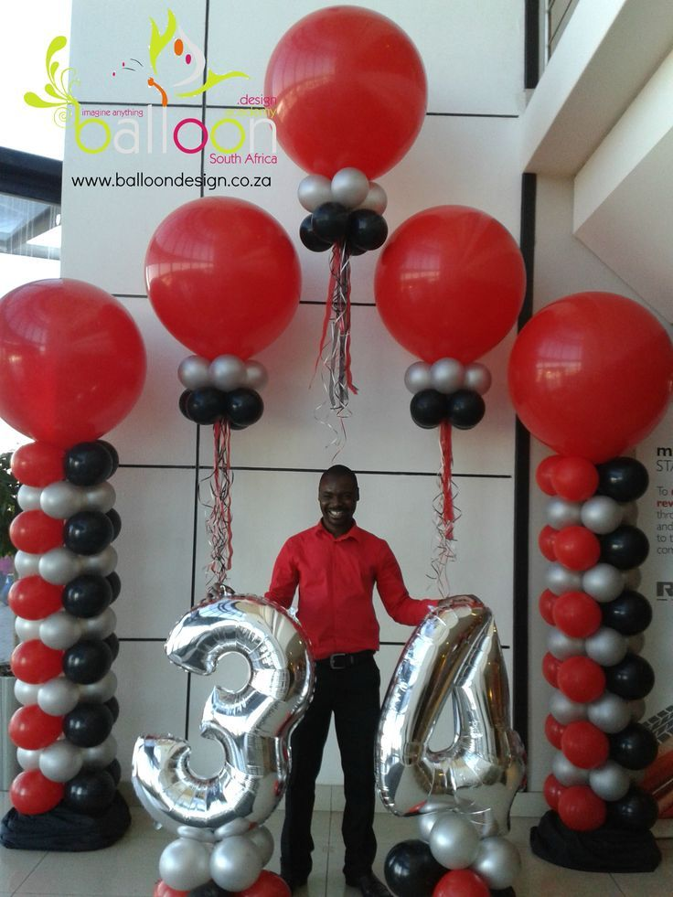 1178 best balloon decor images on pinterest balloon for Balloon decoration business