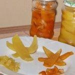 Compot din coji de portocale
