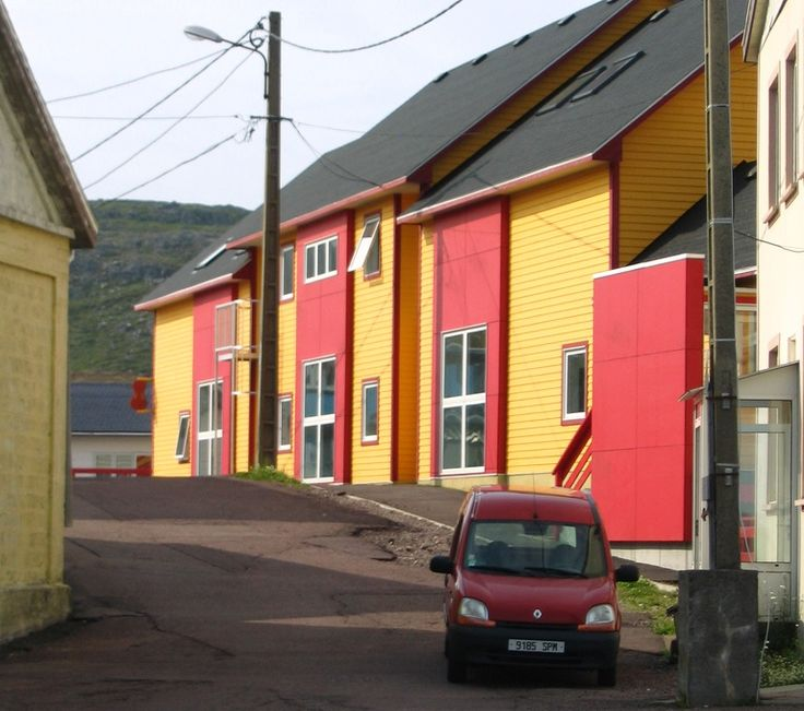 Saint Pierre et Miquelon (France, just off the coast of Newfoundland? Must go there!)