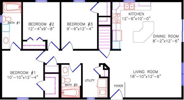floor plan | Anna Maria Island | Pinterest | House