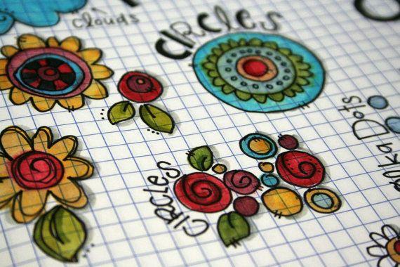 A Whole New Doodle Online Workshop Original by Documentedfaith