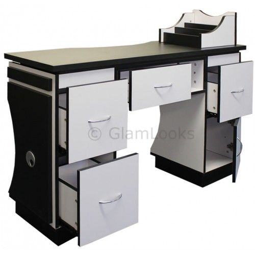Nail Technicians Nail Mannequin | ASCOT Nail Salon Technicians Manicure Table