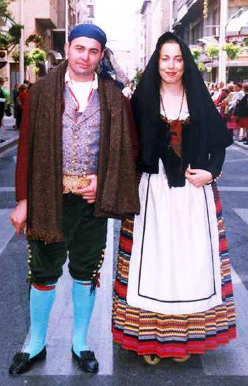Traje regional tradicional de Murcia