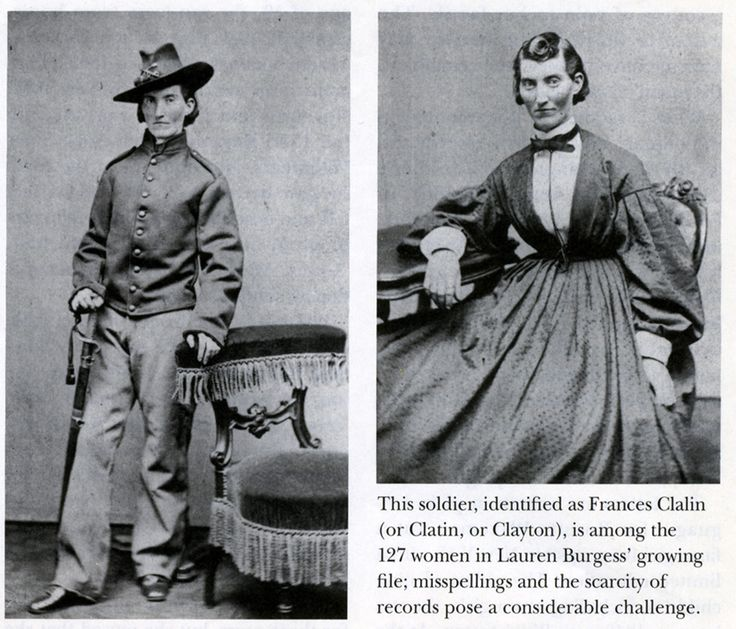 A history of active woman in the civil war