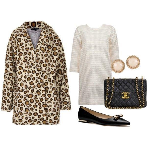 Сшить леопардовое пальто