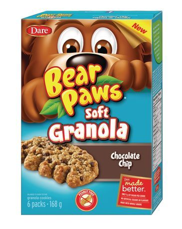 Chocolate Chip Bear Paws Soft Granola  #BearPawsSoftGranola