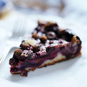 Bear Chaser Blueberry Pie - Winner of Minnesota's Blueberry Fest  Recipe: Pies Recipe, Blueberries Cheesecake Pies, Blueberries Cream, Chaser Blueberries, Blueberries Pies, Bears Chaser, Blueberries Recipe, Blueberry Pies, Cream Cheeses