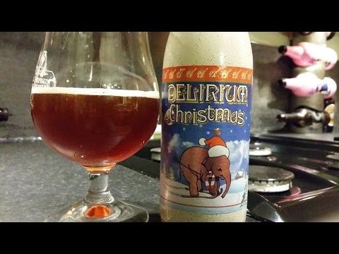 Real Ale Craft Beer/Beers of Europe | Delirium Christmas By Brouwerij Huyghe | Belgian Craft Beer Review