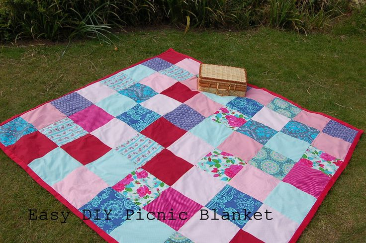 Picnic Blanket sewing Tutorial