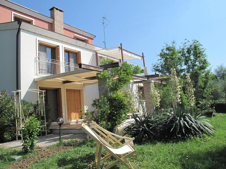 villa La Bigiola, summer view   (ITALY-Rimini-romagna)