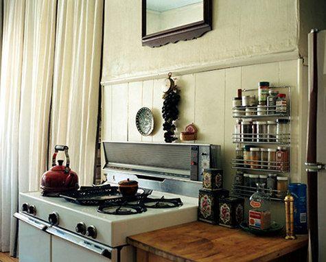 Olga Naiman Williamsburg Railroad Apartment Nyc Design Sponge LivingApartment IdeasSmall