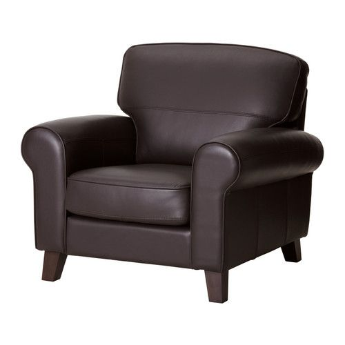 YSTAD Chair IKEA Seat surfaces and armrests in soft, hardwearing, easy care grain leather.