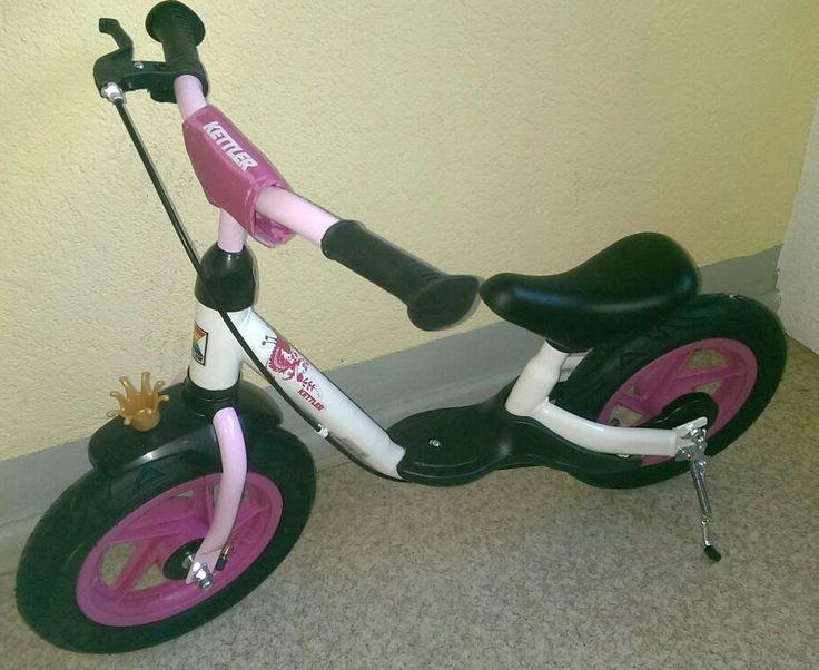 Kettler, Laufrad Spirit Air 12,5″ Princess für Kinder ab 2 Jahren. Das Laufrad ist für kleine Kinder die Vorstufe zum Fahrrad nach dem Roller. Im Gegensatz zum Fahrrad wird für die Fortbewegu…