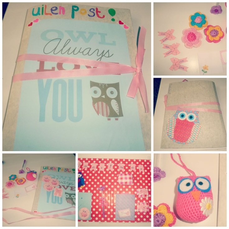 Another just awesome and sweet Snailmail from Anneloes! I just loooove owls! <3