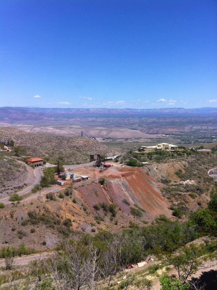 Beautiful views in Jerome, AZ.