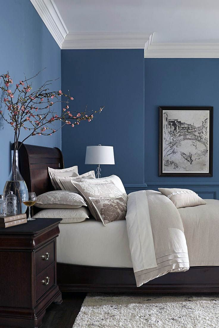 Watch bedroom paint color ideas from hgtv master bedroom paint colors 01:21 master bedroom paint colors 01:21 here are tips on choosing master bedroom paint colors and combinations. Here Are Bedroom Paint Ideas Dulux For Your Home Best Bedroom Paint Colors Bedroom Wall Colors Blue Master Bedroom