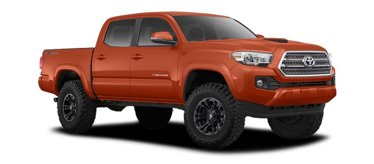 2017 TOYOTA TACOMA DOUBLE CAB TRD SPORT - 3 INCH LIFT ON 17