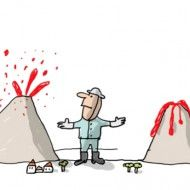 Pourquoi les volcans entrent-ils en éruption ?