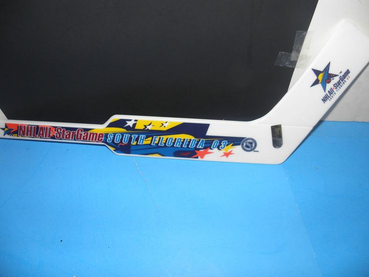 NHL-2003 ALL-STAR GAME-SOUTH FLORIDA GOALIE STICK 7X17