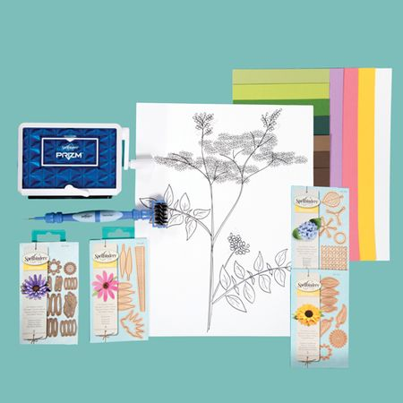 Create a-Flower 3-D Wall Art Prizm Die Cutting & Embossing Machine Kit