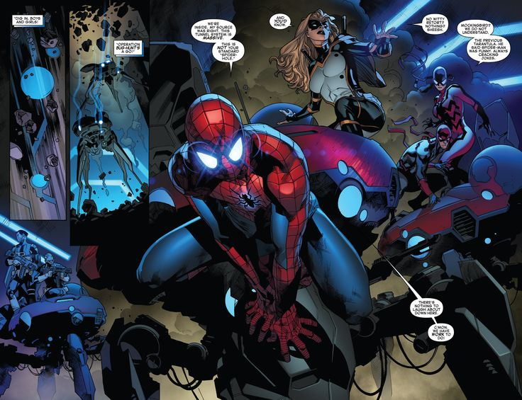 The Amazing Spider-Man (2015)     Issue #25     - Read     The Amazing Spider-Man (2015)     Issue #25     comic online in high quality