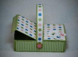 Picnic Basket Treat Holder Tutorial