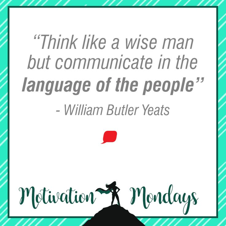 And it's time for #Motivation #Mondays! We can't say it enough, KEEP IT SIMPLE TO KEEP IT MEMORABLE!