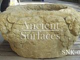 Stone Sinks Wine Cellar - mediterranean - kitchen products - los angeles - by Ancient Surfaces