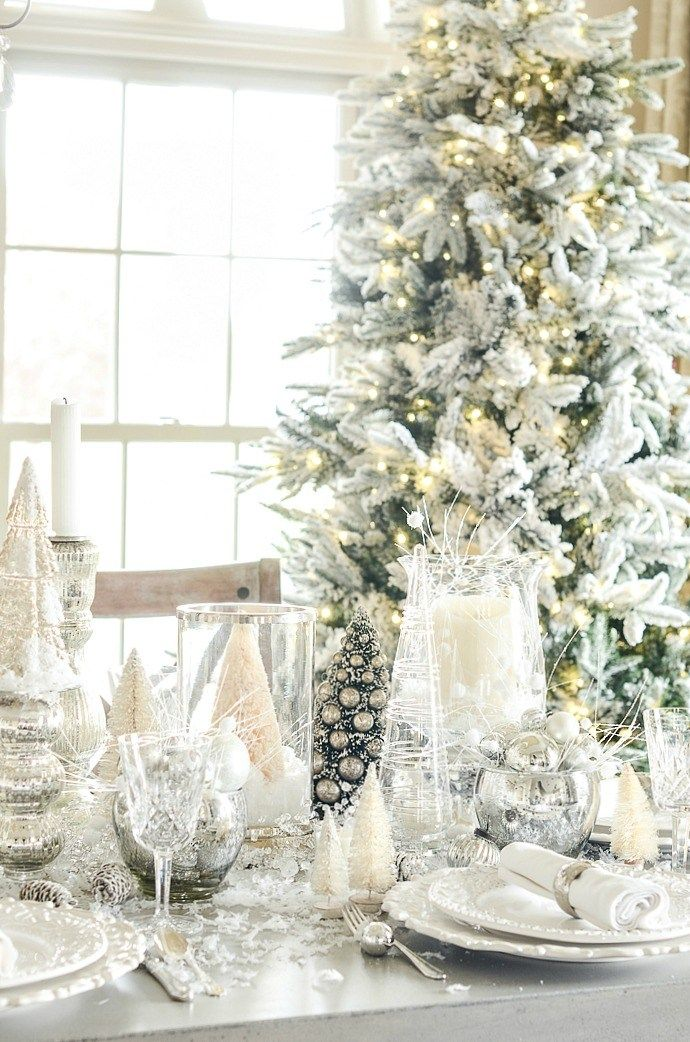 Elegant Christmas Tablescape Christmas Table Centerpieces Christmas Table Christmas Table Settings