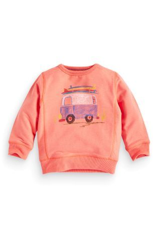 Buy Campervan Printed Crew Neck (3mths-6yrs) online today at Next: United States of America