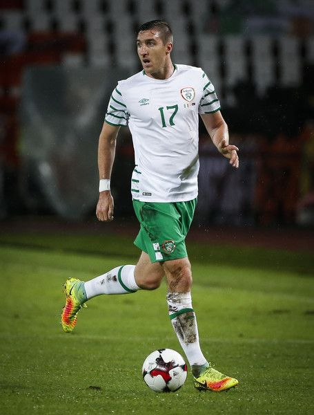 Stephen Ward of Ireland in action during the FIFA 2018 World Cup Qualifier…