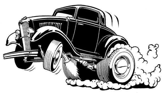Imgs For gt Hot Rod Line Drawings DAP Of DRAWINGS CARS