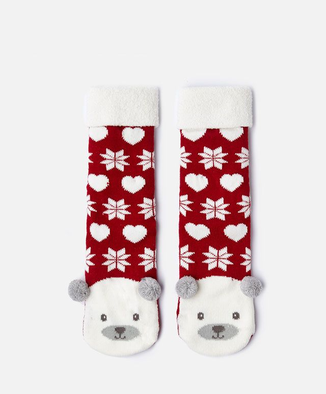 Calcetines oso navidad - OYSHO