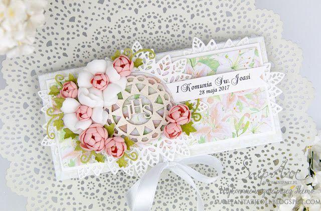 Nietypowe kartki komunijne / Not tipical communion cards