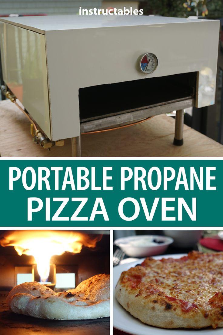 Portable Propane Pizza Oven Build and Cook Propane pizza
