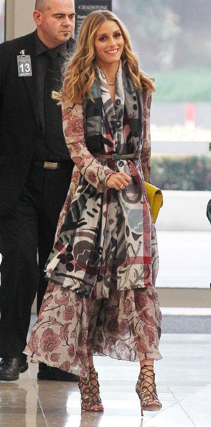 Olivia Palermo rainha de burberry