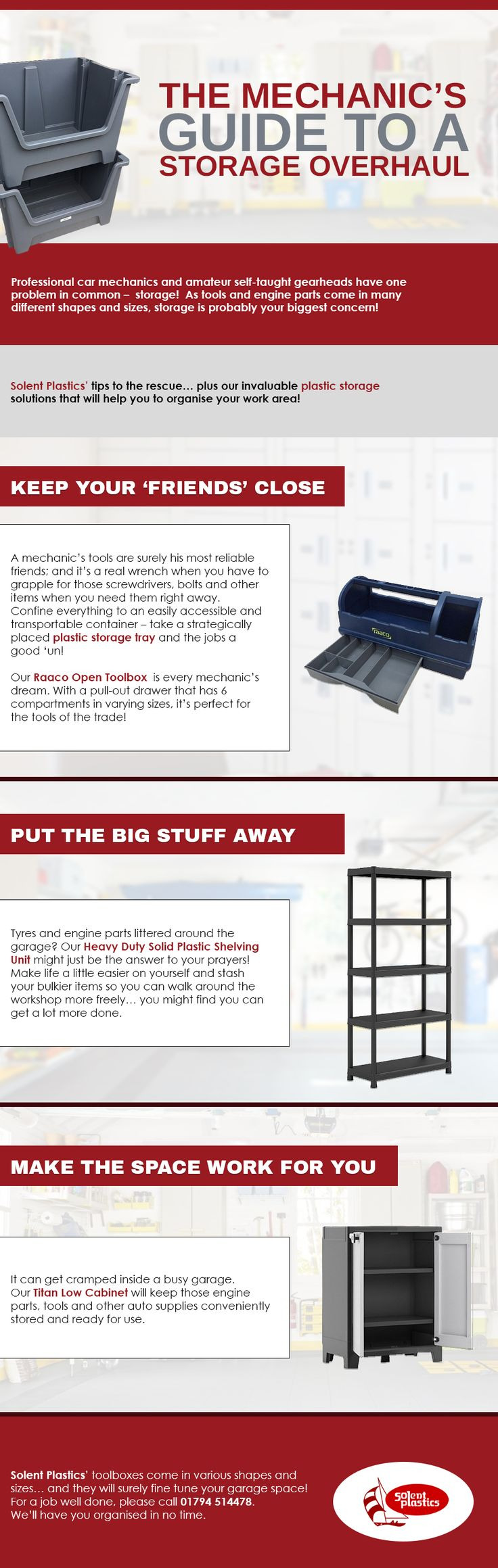 The Mechanics Guide to a Storage Overhaul...