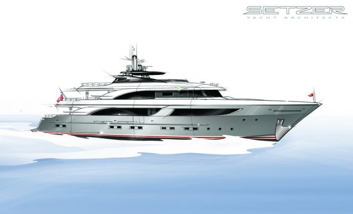 Shadow Yacht | Setzer Yacht Architects
