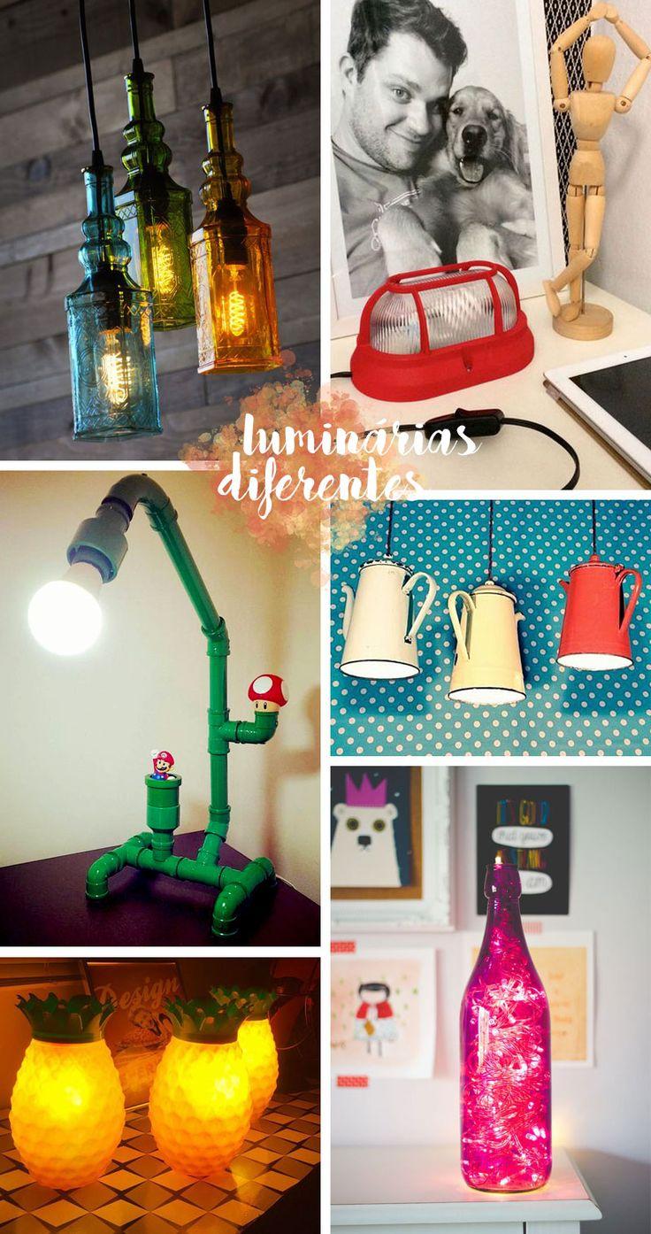 Luminárias-diferentes