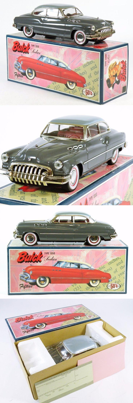 Vehicles 158799: Fifties Co.Ltd. 1950 Buick Sedan Tinplate Made In Japan Mib Grey -> BUY IT NOW ONLY: $50 on eBay!