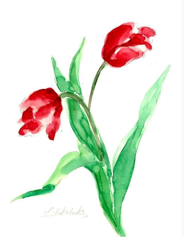 いつのまにか、チューリップが咲いていました。 春はすこしづつ、近づいて来ています。 Copyright © 2016Yoshiko Takatsuka. All rights Reserved. 無断転載を禁止致します