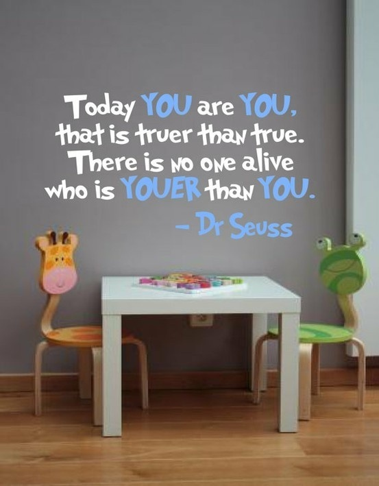 I just love Dr. Seuss!:)