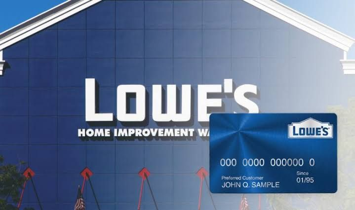 Lowes Credit Card Login In 2020 Credit Card Business Credit Cards