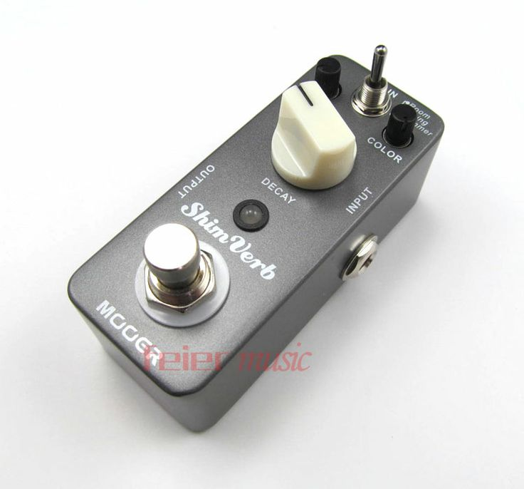 MOOER ShimVerb Reverb Guitar Effect Pedal : http://www.aliexpress.com/store/product/NEW-Effect-Pedal-MOOER-ShimVerb-Reverb-Pedal-True-bypass-Excellent-sound/403131_584744404.html